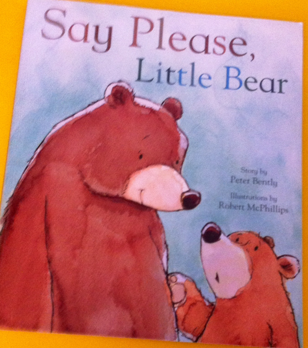 say please little bear