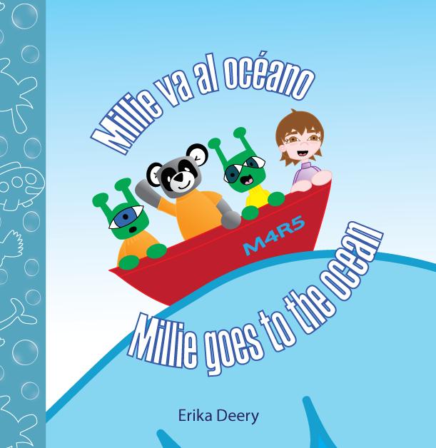Millie va al océano / Millie goes to the ocean